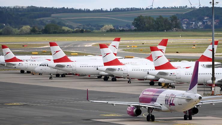 Die österreichische Fluggesellschaft Austrian Airlines steht vor einem massiven Personalabbau. (Archivbild)