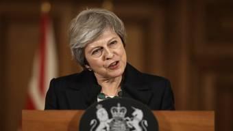 Unter Druck: Theresa May.