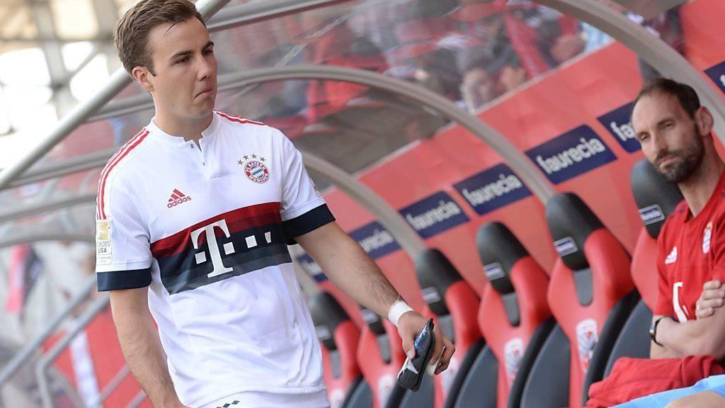 Verlässt gemäss der «Bild»-Zeitung den FC Bayern München Richtung Borussia Dortmund: Mario Götze