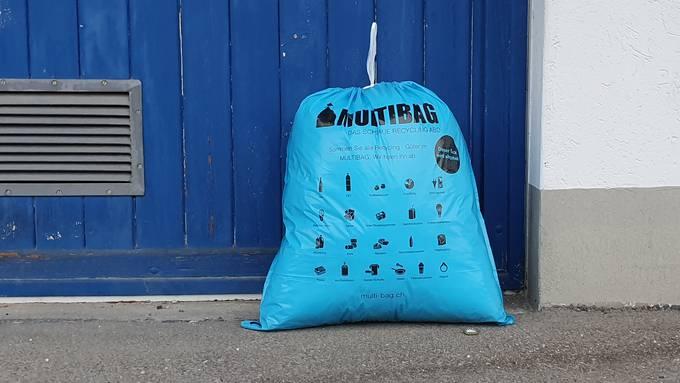 Streitobjekt: Die Abfallsäcke von Multibag sieht die Stadt Baden nicht gerne.
