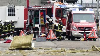 142'939 Franken stellte der Kanton der Rohner AG für den Einsatz nach der Explosion in Rechnung. Offen ist noch die Prattler Rechnung von 11'360 Franken. Keystone