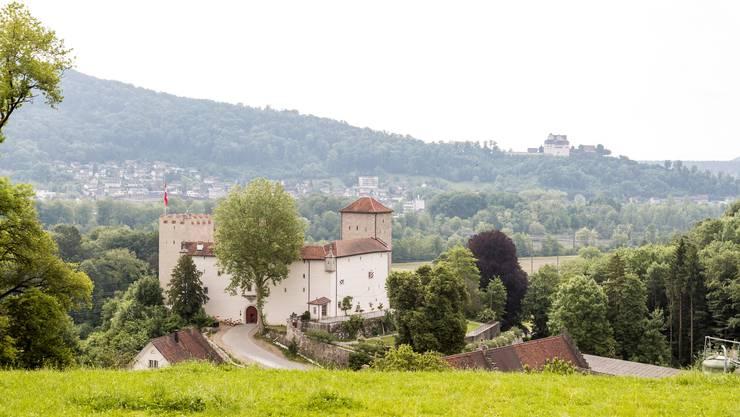 Blick auf Schloss Wildenstein.