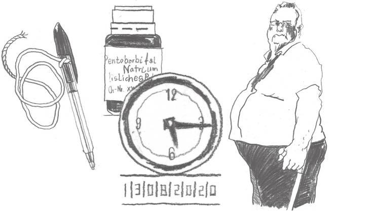 Am 13. August 2020 um 17.15 Uhr wird Peter Vogt 70 Jahre alt. Genau dann soll sein Todeszeitpunkt sein.