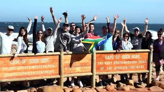Das war Südafrika!