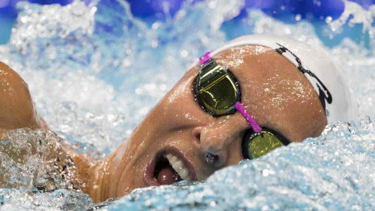 Maria Ugolkova überzeugte in ihrer Paradedisziplin 200 m Lagen