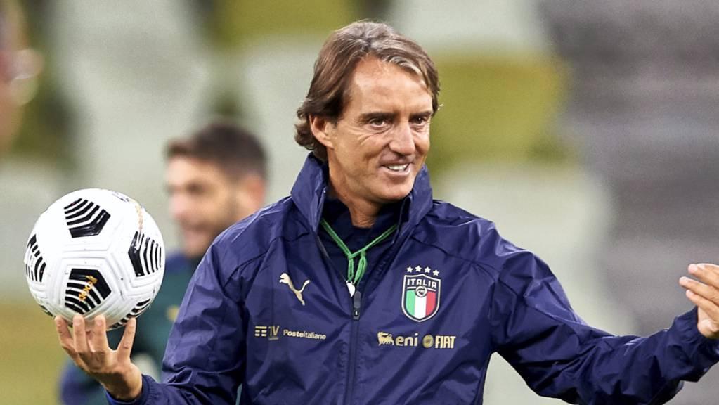 Italien mit Trainer Roberto Mancini ist der Gastgeber und der Favorit der Gruppe A.