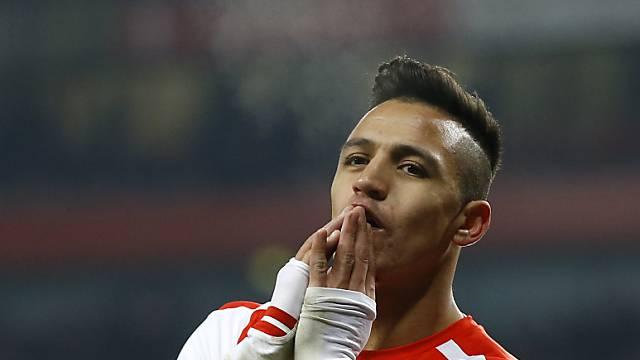 Alexis Sanchez steuerte zwei Tore zum Arsenal-Heimsieg bei