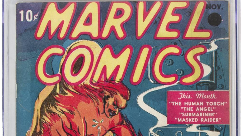 Erster Marvel-Comic für Rekordsumme versteigert