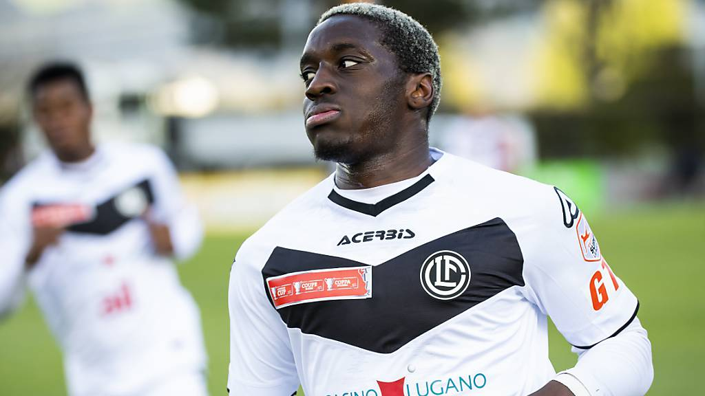 Christopher Lungoyi war mit drei Toren der Matchwinner des FC Lugano