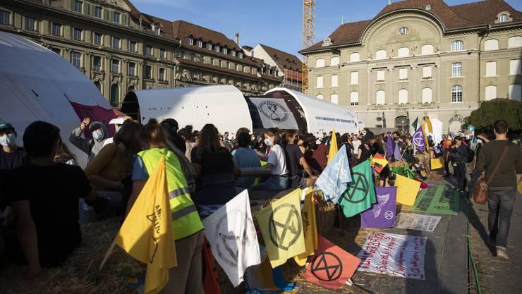 Nach mehr als zwei Tagen räumte die Polizei den Bundesplatz.