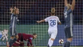 Der FC Zürich um Goalie Elvira Herzog verlor auch das Rückspiel in München