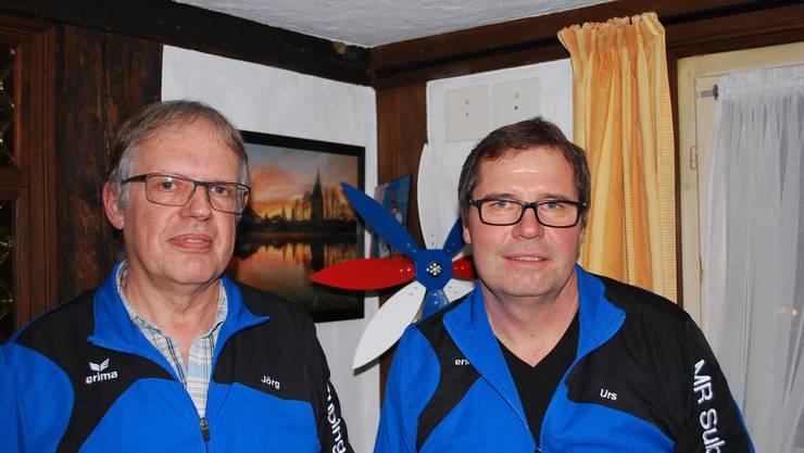 Auf Jörg Waser (links) folgt Urs Kröplin