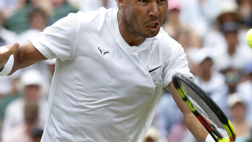 Rafael Nadal befindet sich in Topform und überzeugte gegen João Sousa auch am Netz