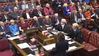Das britische Oberhaus während der Brexit-Debatte (Archiv)