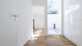 Die Zahl leerer Wohnungen in der Schweiz hat in den letzten Monaten weiter zugenommen, wenn auch moderat. (Archivbild)