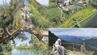 Aarelandschaft bei Wolfwil, Kloster Fahr, Belchenflue, Lägern: Oasen der Region