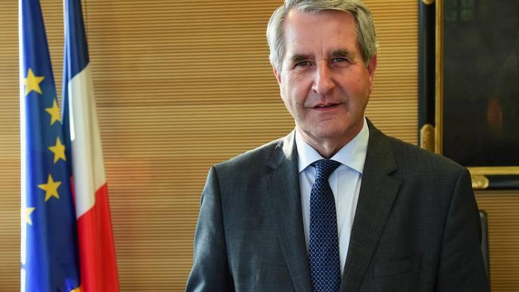 Er setzt auf Zusammenarbeit mit den Nachbarländern: Der bürgerliche elsässische Politiker Philippe Richert.
