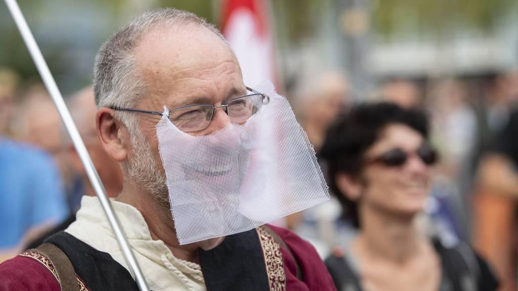 Maskenverweigerern drohen neu Ordnungsbussen