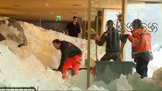 Schwägalp: Hotelier zieht Gast aus dem Schnee