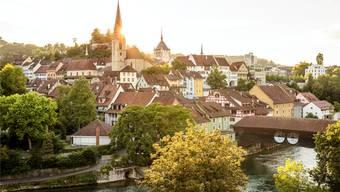 Der Sonnenschein trügt: Die finanzielle Lage der Stadt Baden bleibt trotz ausgeglichenem Budget angespannt. San