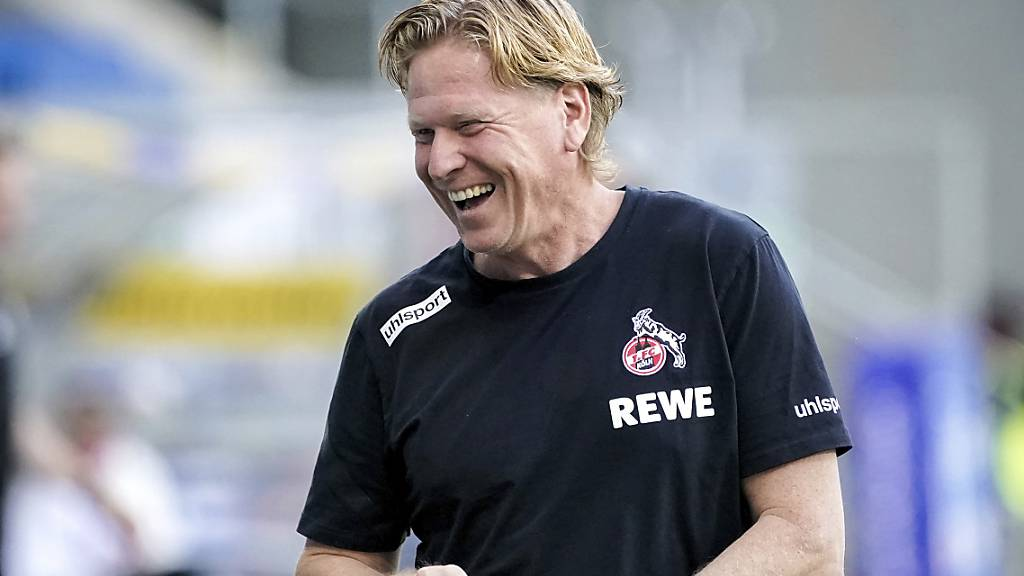 Gisdol verlängert Vertrag beim 1. FC Köln bis 2023
