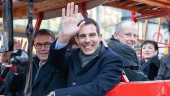 Wahlfeier Thierry Burkart