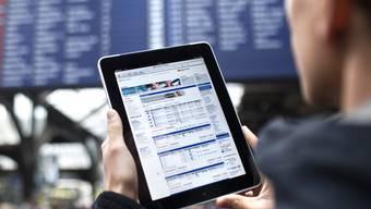 Die SBB stellt an verschiedenen Bahnhöfen in der Region WiFi zur Verfügung