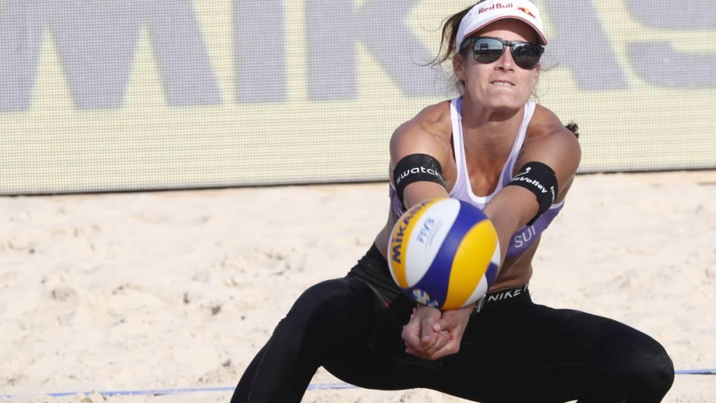 Joana Heidrich verteidigt erfolgreich.