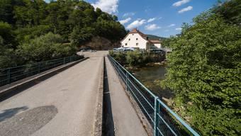 Die Birsbrücke in Liesberg wird verschwinden.