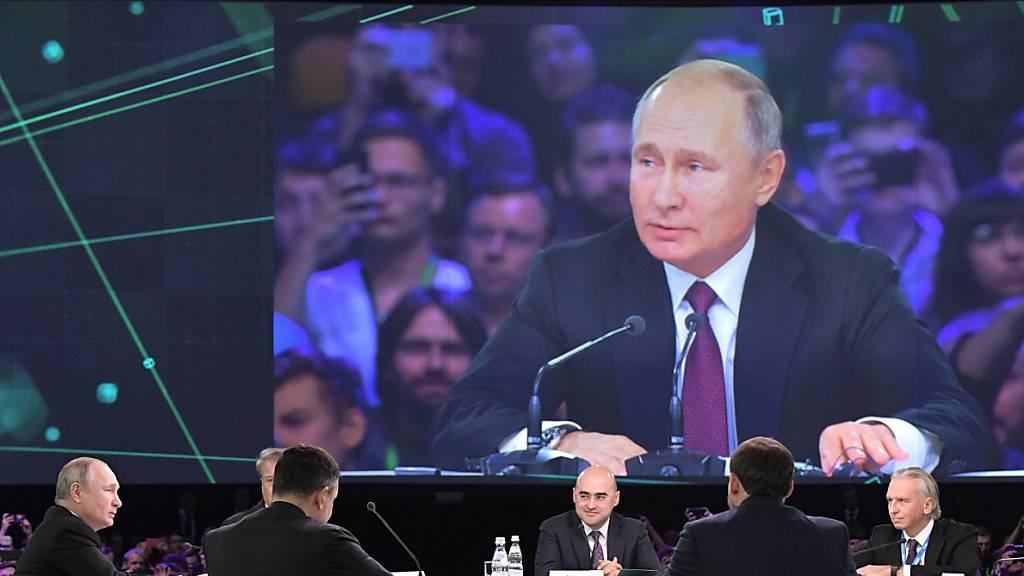 Russland soll nach den Worten von Staatschef Putin bei der Entwicklung künstlicher Intelligenz weltweit führend sein.