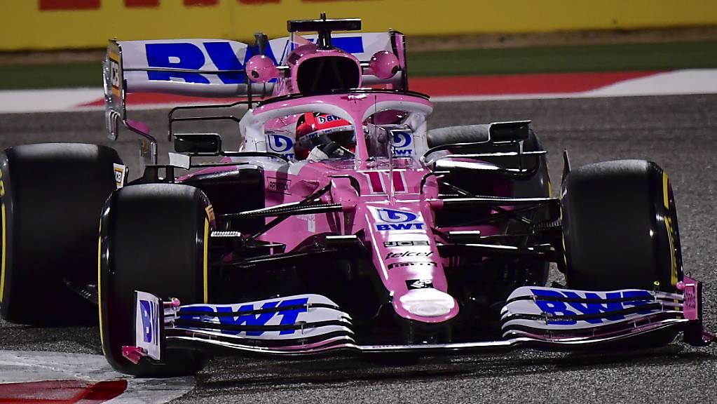 Siegpremiere im 190. Rennen in der Formel 1: Sergio Perez gewinnt im Racing Point den Grand Prix von Sakhir