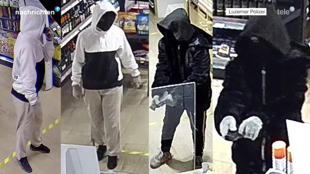 Duo überfällt Tankstelle – Polizei sucht Zeugen