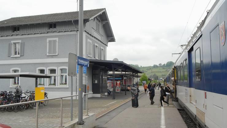 Die SBB wollen Teile des Areals beim Bahnhof Döttingen verkaufen.