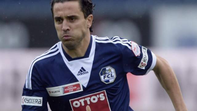 Rangelov erzielte den ersten Treffer für die Luzerner
