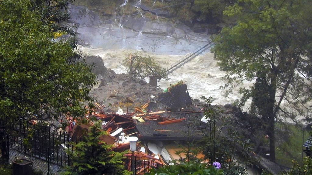 Unwetter auf der Alpensüdseite