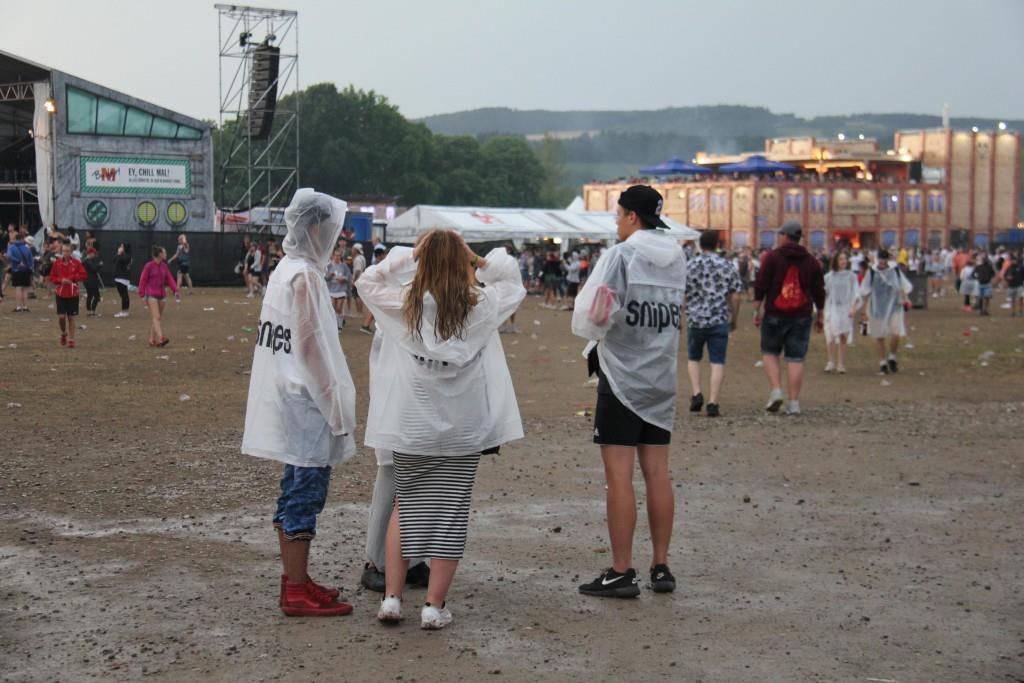 OAFF17: Frauenfeld im Regen (© FM1Today/Stephanie Martina)
