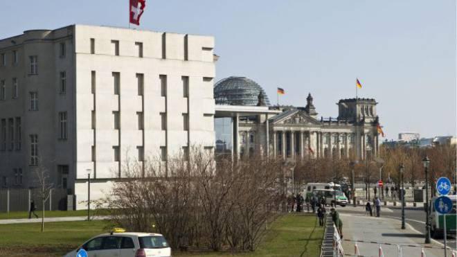 Schweizer Botschaft in Berlin. Foto: Keystone