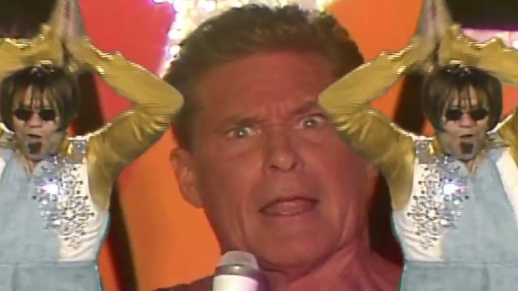«Guardians' Inferno» mit David Hasselhoff.