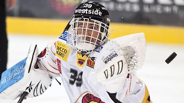 Mit Milzriss out: SCB-Goalie Marco Bührer