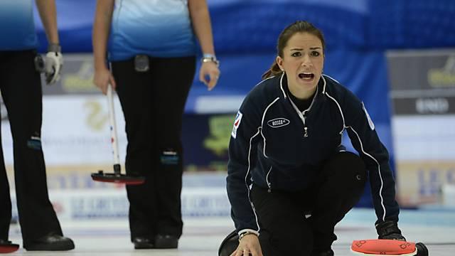 EM-Gold für Russland Skip Anna Sidorowa