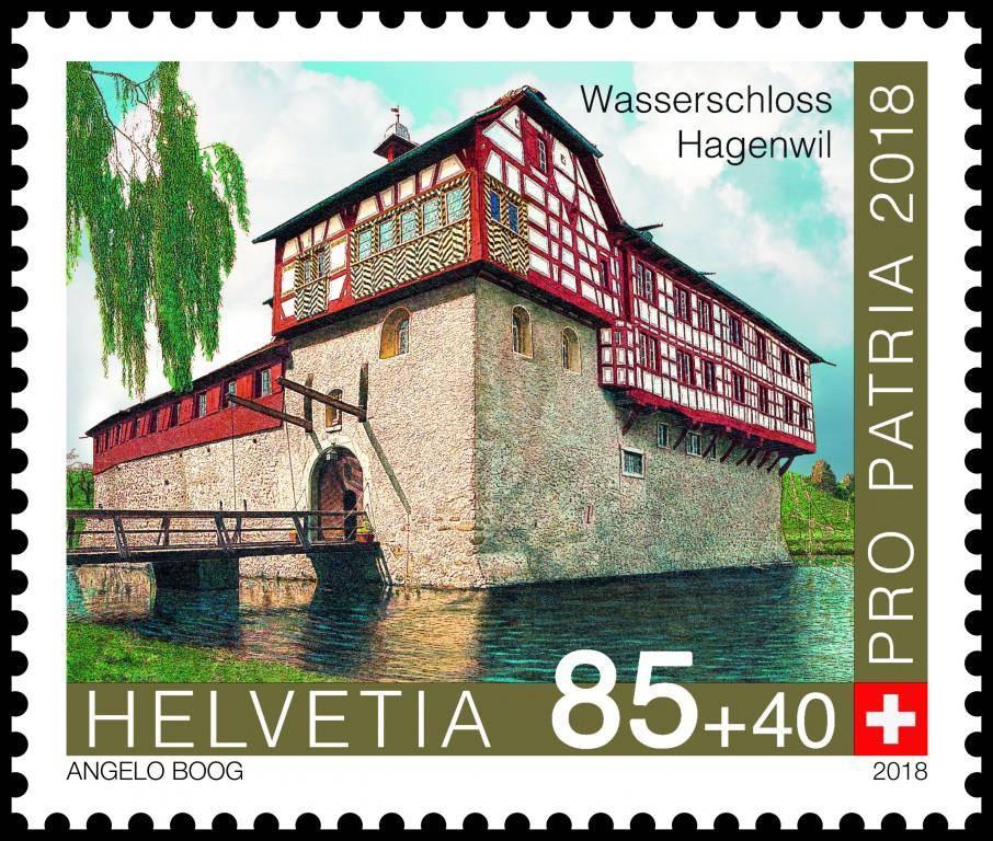 Die neuen Briefmarken 2018 (© pd)