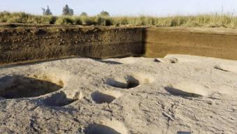Im Nildelta hat es schon 5000 vor Christus sesshafte Gesellschaften gegeben. Archäologen fanden Tierknochen und Keramik in einem der ältesten Dörfer.