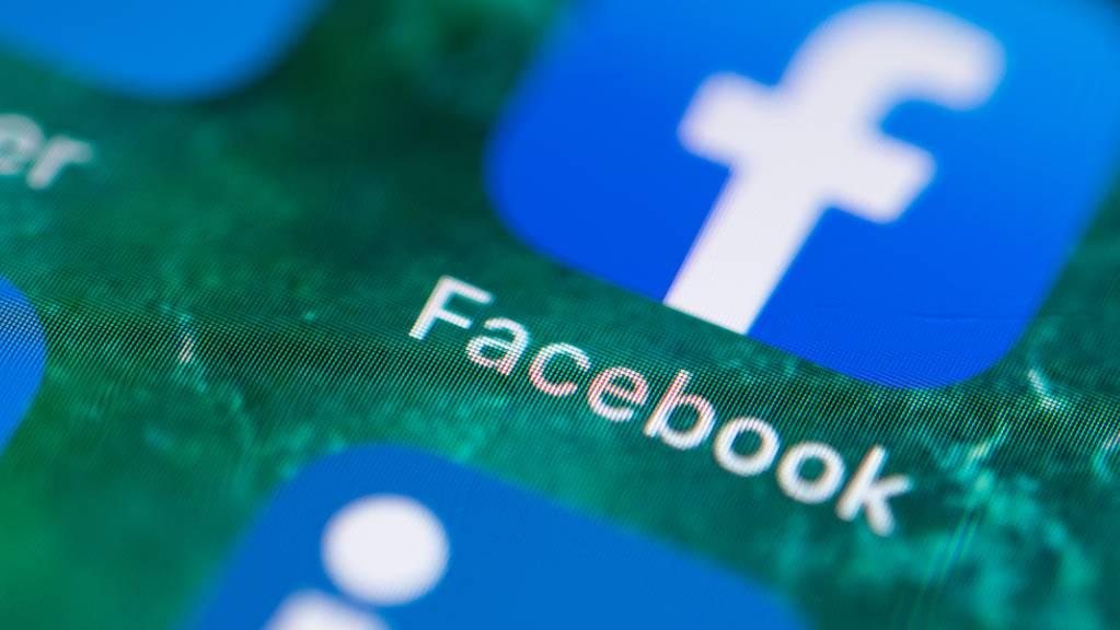 Der Internetriese Facebook lanciert Audio-Angebote, die unter anderem von Sportlern und Musikern genutzt werden können. Das Angebot soll nach und nach ausgebaut werden. (Archivbild)