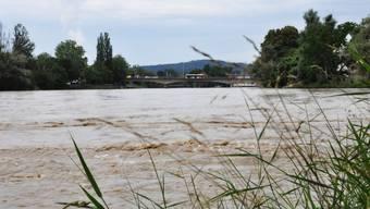In Olten und Aarau besteht die höchste Gefahr für eine Überschwemmung. (Symbolbild)