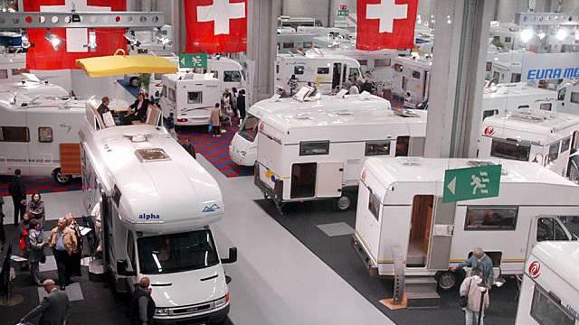 Crème de la crème der Wohnwagenmodelle in Bern (Archiv)