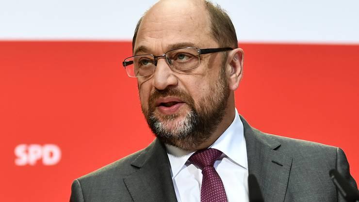 Martin Schulz will keine Grosse Koalition.
