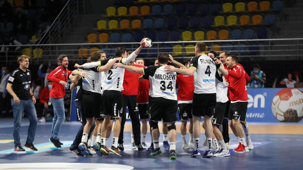 Schweizer Handballer starten mit Sieg in unverhoffte WM
