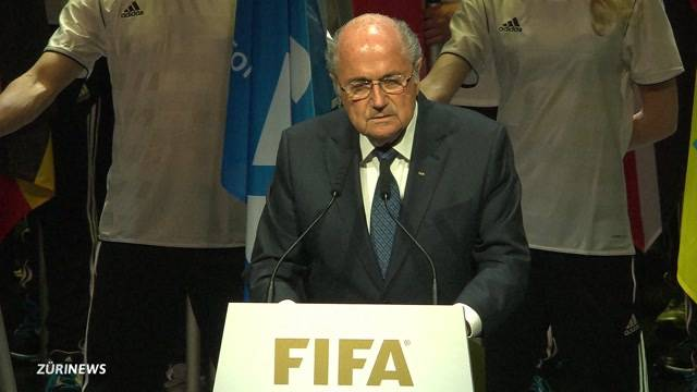 Blatter eröffnet den Fifa-Kongress