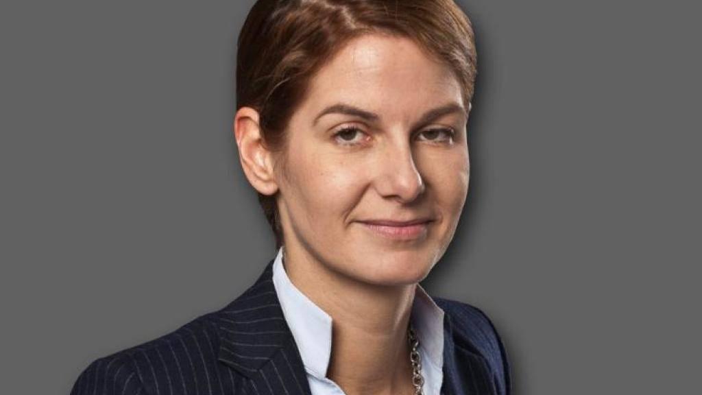 """Tanit Koch ist die erste Chefredaktorin der """"Bild""""."""