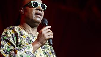 Stevie Wonder trat wie Prince gern am Montreux Jazz Festival auf (im Bild ein Auftritt von 2014). Ihre enorme Leidenschaft für die Musik verband die beiden Künstler. (Archivbild)